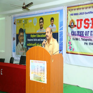 Awareness of Higher Education in USA Workshop
