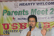 B Tech Students Parents Meet 2015 14