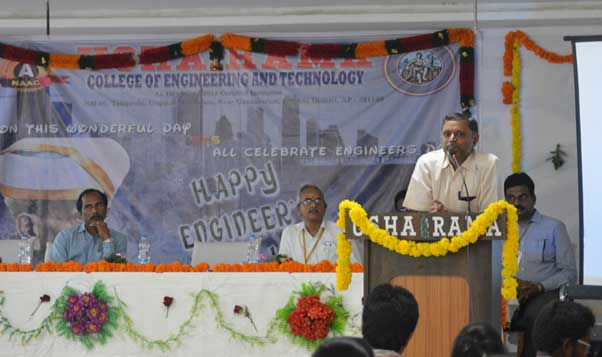 Engineers Day Celebtraions by Civil Department 2017 2
