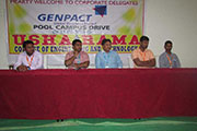 GENPACT pool off-campus drive4