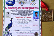 Gold Medal in 2nd Students Olympic National Games 3