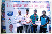 Gold Medal in 2nd Students Olympic state Games 3