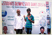 Gold Medal in 2nd Students Olympic state Games 4