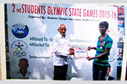 Gold Medal in 2nd Students Olympic state Games 5