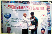 Gold Medal in 2nd Students Olympic state Games 6