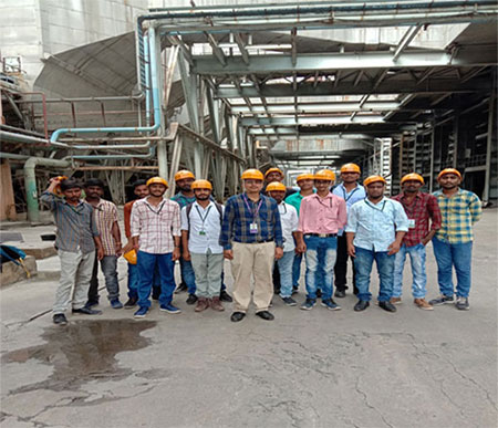 narla tatarao thermal power plant industrial visit 2019 1