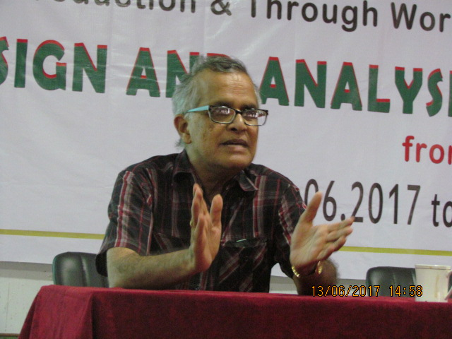 Guest Lecture by Putcha Chandra Shekar