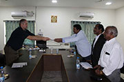 MoU with trine university 7