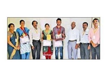 Gold Medal Achieved In State Level Competitions- CSE and EEE Students
