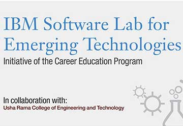 Inauguration of IBM Software Lab for Emerging Technologies