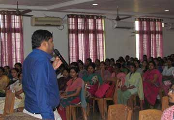 Industry Interaction with Final Year Students