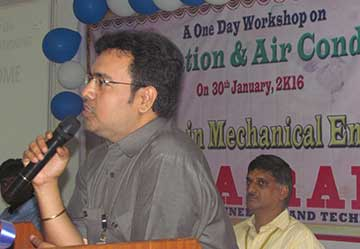 One Day Workshop on Refrigeration And Air Conditioning