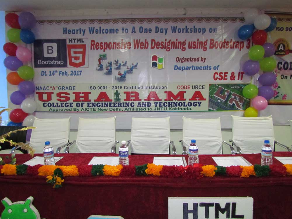 One Day Workshop On Bootstrap 14th Feb 2017