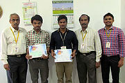 First Prize in National Level Project Expo Event 8