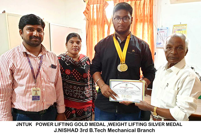 JntuK Inter Collegiate Weight Lifting 3